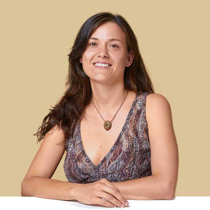Sonia Rosa Escribano, naturópata, iridóloga, reflexóloga y terapeuta de hipnosis clínica reparadora