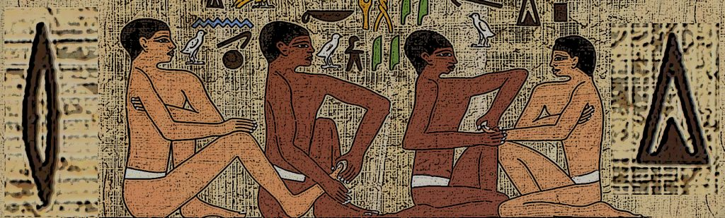 Reflexología. Grabados tumba Ankmahor